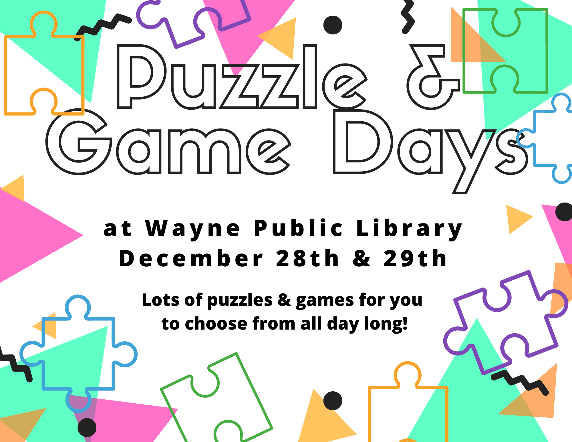 puzzle game days