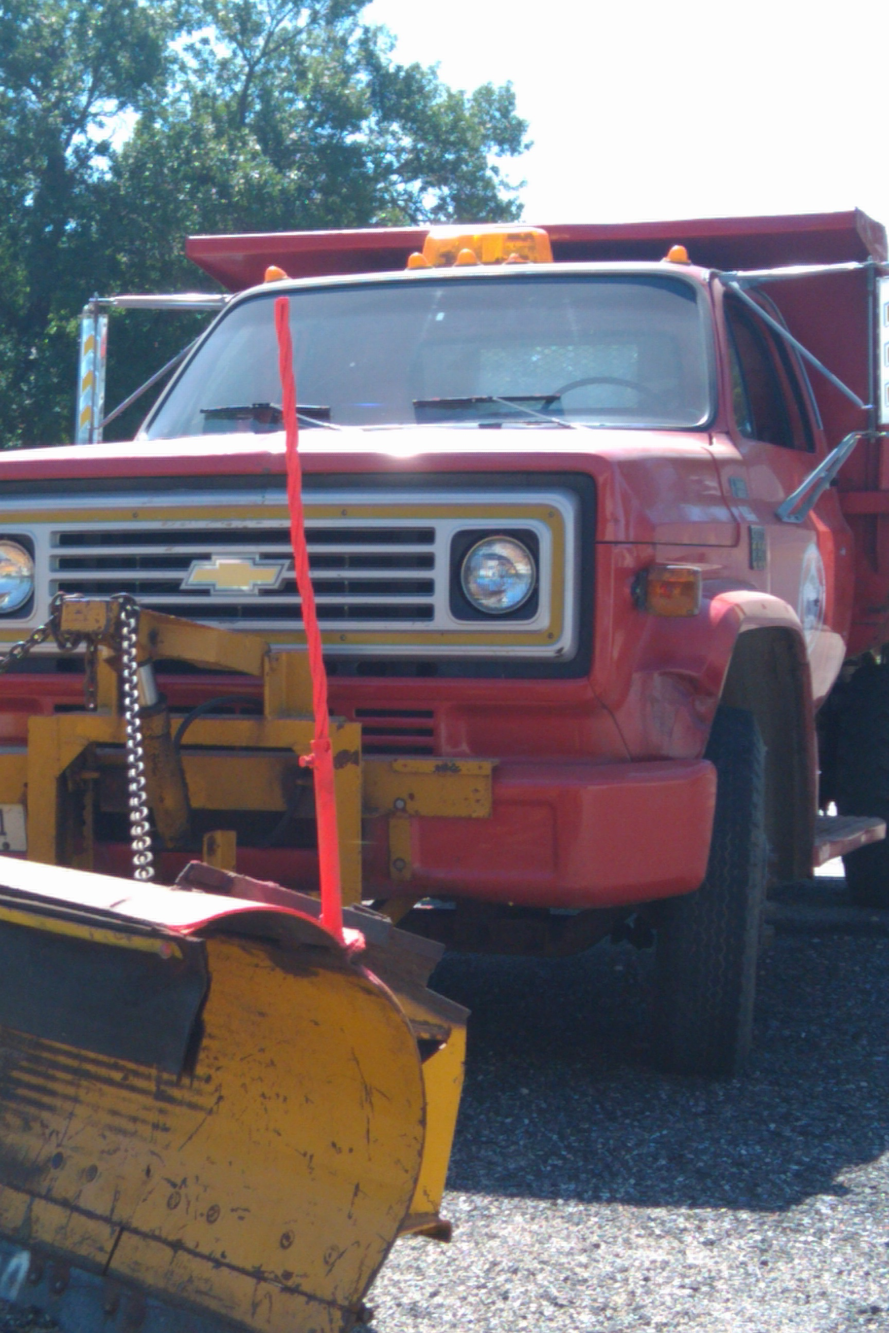 1977 Snow Plow Front