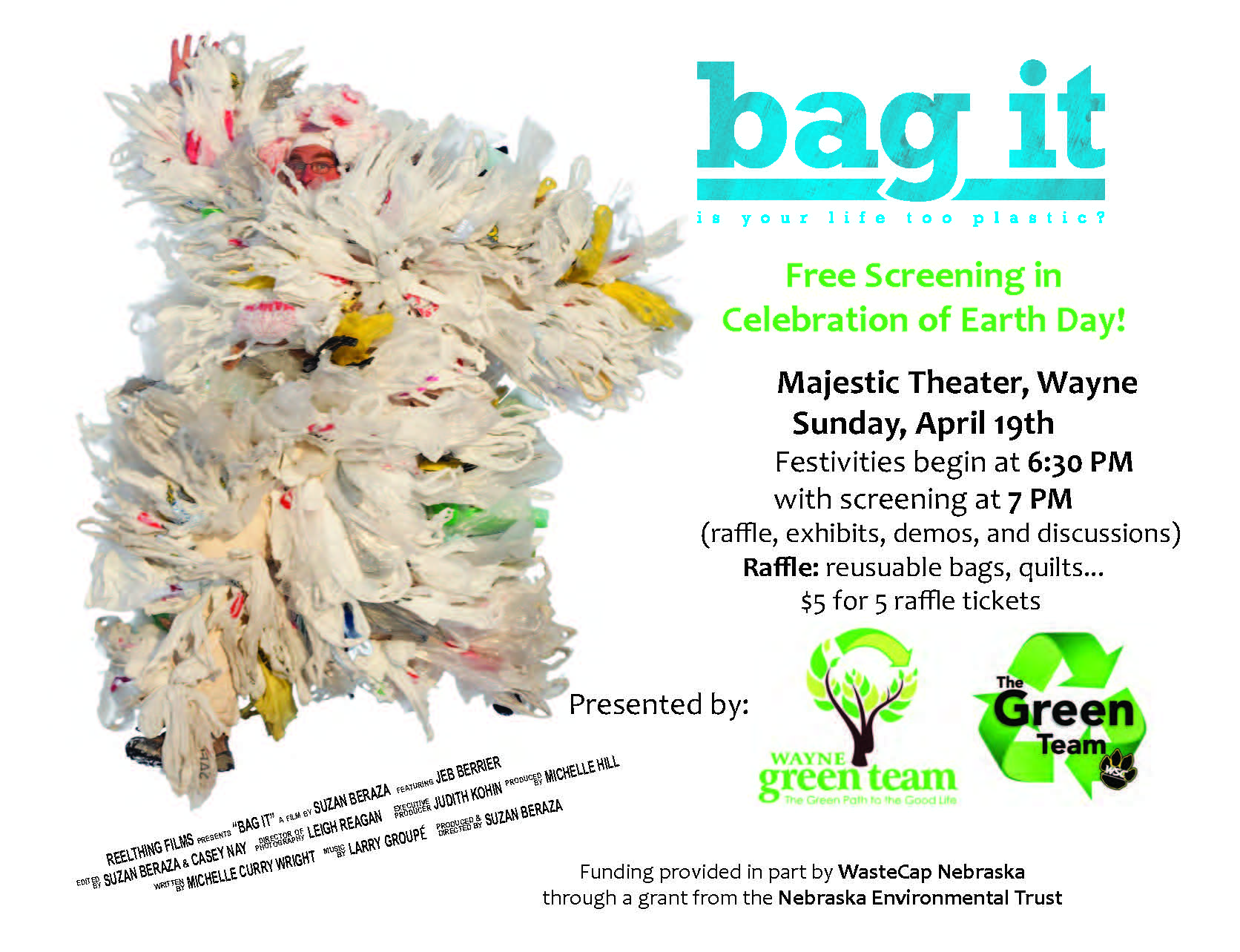 Bag It Movie Flyer