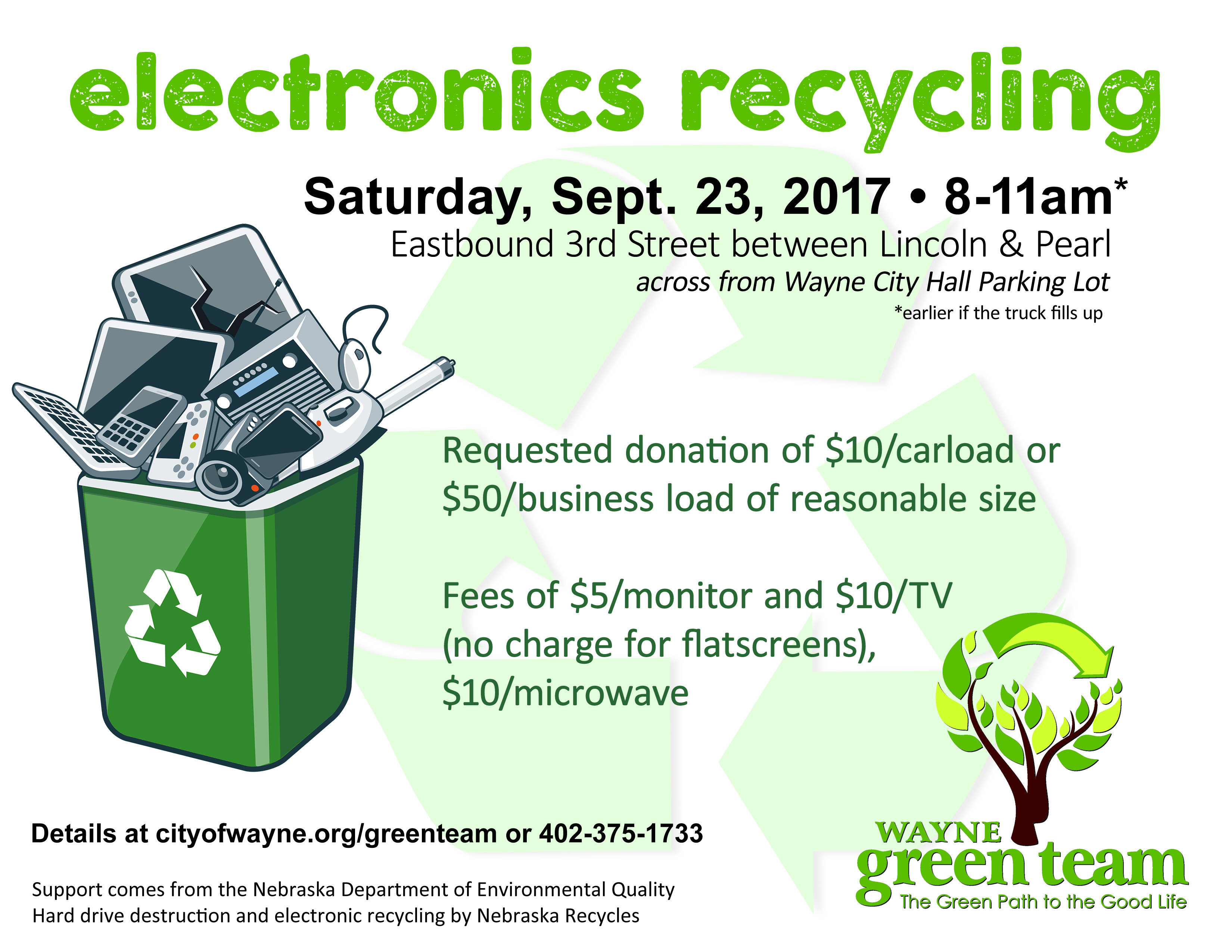 2017 recycling event