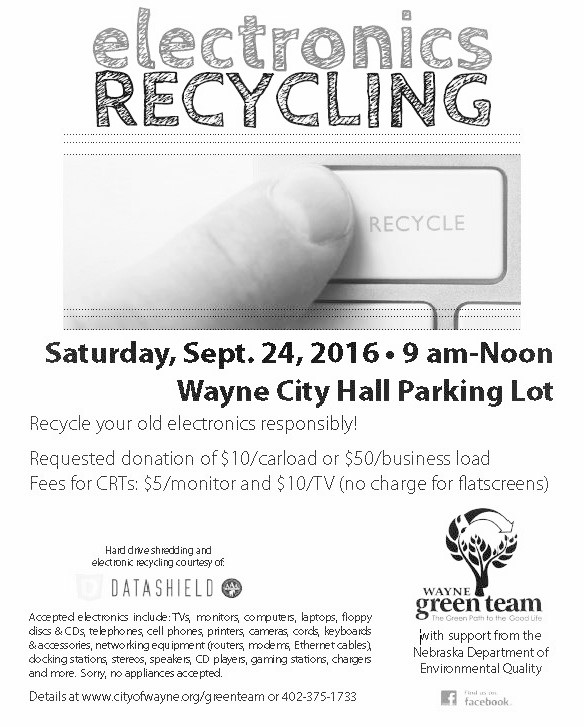 2016 Electronics Recycling